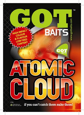 GOT Baits Atomic Cloud Catmeat, 250 gram