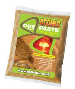 GOT Baits Atomic Paste Halibut, 500 gram, haakpasta