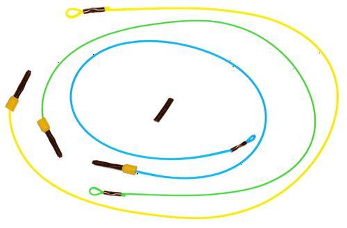 Nisa BiteMaster Indicator Heavy, beetmelder voor voerkorf vaste hengel