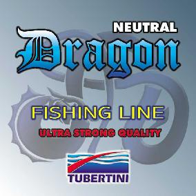 Tubertini Dragon Neutral, nylon 100 m, D 0.09mm T/L 1.44/0.80