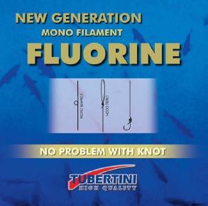 Tubertini Fluorine nylon, 50 m, D 0.064 mm T/L 0,51/0,40