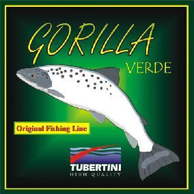 Tubertini Gorilla Verde UC3 groen, nylon 150 m, D 0.12 mm T/L 1,90/1,52