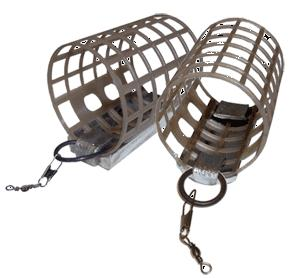 Nisa Plastic cage voerkorf, small, 44 gram
