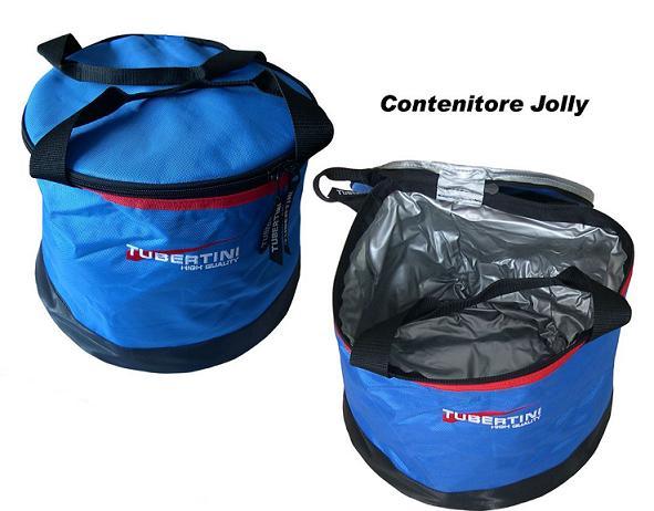 Tubertini tas Jolly 1, thermisch gevoerd, 30 x 23 cm, voor aas en aangemaakt voer