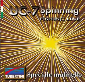 Tubertini UC7 spinning, nylon 150 m, D 0.28 mm T 13,26